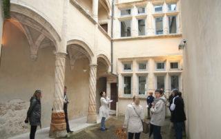 cours et maisons renaissance à Villefranche sur Saône